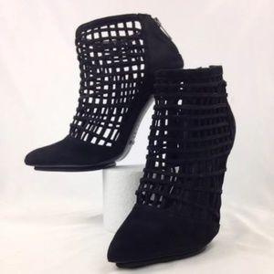 SCHUTZ Shoes - SCHUTZ caged booties heels size 9 Never worn!